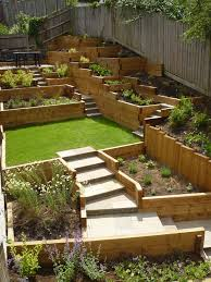 Small Picture Steeply sloping garden design ideas Home Decor Interior Exterior