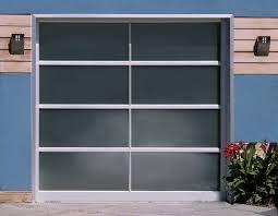 commercial grade glass garage door