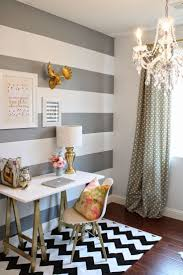 Image result for black and white striped accent wall