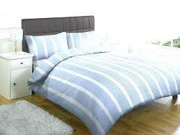 white striped duvet cover fashionable grey navy and cotton