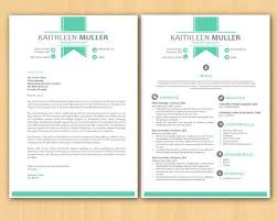green banner modern microsoft word resume and cover letter template resume template word cv ms word cover letter template
