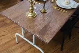 diy folding farm table