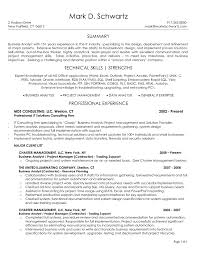 Sample Business Analyst Resume Sample Business Analyst Project Manager Resume Save Business Analyst 22