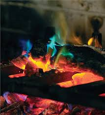 main image for 2 pack rainbow fireplace flame crystals for wood fires