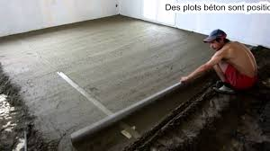 Chape Pour Carrelage Scell Par William Amador Du Groupe D Q Comment Poser Dalle Beton L