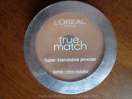 i hit pan on l oreal true match super blendable powder review photos swatches