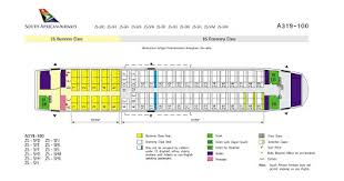Airbus A319 Seating Chart Airplane Pics South African Airways Airbus A319 Seating Layout
