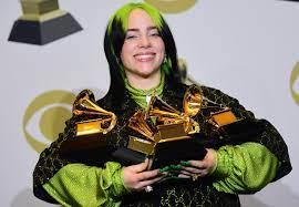 Vijf Grammy's voor Billie Eilish, één ...