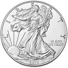 American Silver Coin Value Chart Silver American Eagle Bu