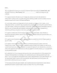 Sales Agent Contract
