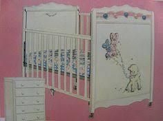 retro baby furniture. 1954 thayer baby crib retro furniture