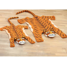 full size tiger rug