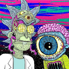 Trippy Rick And Morty Wallpapers ...