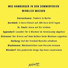 Was Hamburger In Der Sommerferien Wirklich Machen Sternschanze