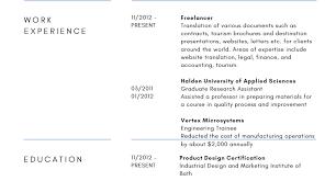 How To List Freelance Work On Resume | Resumewritinglab