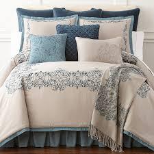 royal velvet sienna 4 pc comforter set jcpenney with regard to decor 1