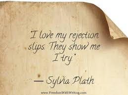 Sylvia Plath Love Quotes Classy The Five Stages Of Rejection Avery Kingston