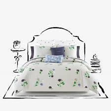 Kate Spade Bedding Kate Spade New York Willow Court Comforter Set In Platinum