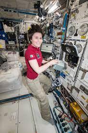 European Space Agency Astronaut Samantha Cristoforetti