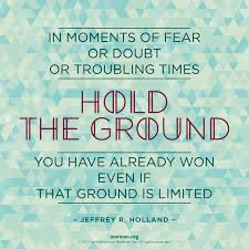Intellectual Quotes Awesome Hold Your Ground