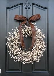front door wreathBerry Wreaths Front Door  Foter