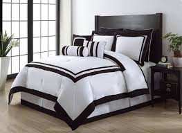Luxurious Black and White Comforter Queen Set with Stripe Bed ... & ... OriginalViews: 1952 viewsDownloads: 1576 downloadsPermalink: Luxurious  Black and White Comforter Queen SetGallery ... Adamdwight.com