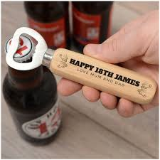 dels about personalised 18th 21st 30th 50th birthday bottle opener gifts him son dad uncle