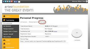 Fundraising Progress Chart Fundraising Hub Improved Fundraiser Experience Frontstream