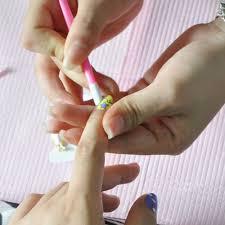<b>1Pc</b> Jewelry Nail Art Orange Wood Stick <b>Cuticle Pusher Remover</b> ...