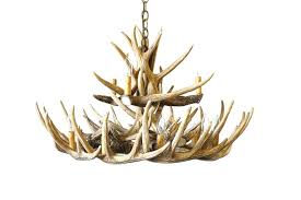 chandeliers antler chandelier kit faux white for wonderful large size of enchanting whitetail kitchen