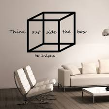 Image Graphic Designer Geometric Wall Decal Think Outside The Box Design Mural School Science Education Wall Art Office Poster Vinyl Wall Stickers A393 Aliexpress Geometric Wall Decal Think Outside The Box Design Mural School