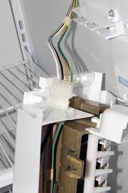 how to replace an ice maker in a side by side refrigerator repair ice maker wiring harness adapter at Ice Maker Wiring Harness