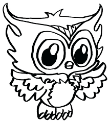 Owl Coloring Pages Free Printable Cute Owl Printable Coloring Pages