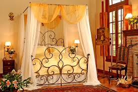 Iron Canopy Bed Frame Plan — Ccrcroselawn Design : Iron Canopy Bed ...