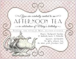 tea party invitations free template tea party birthday party invitations bahiacruiser