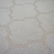 Filet Crochet Patterns Custom Quatrefoil Throw Filet Crochet Knitting Patterns And Crochet