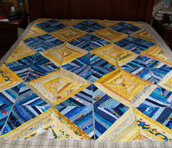 Still pondering the blue and yellow string quilt | BCQuilter's Weblog & I took the blue yardage and some yellow ... Adamdwight.com