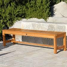 teak outdoor bench. Modern Teak Outdoor Bench S