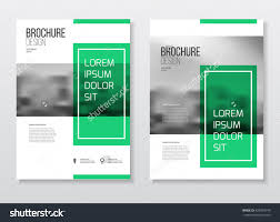 abstract business brochure design vector template stock vector abstract business brochure design vector template in a4 size document or book cover annual