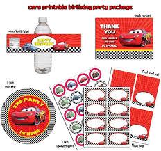 Free Printable Disney Cars Birthday Party Invitation Free Printable