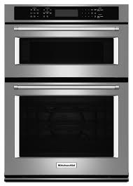 kitchenaid 27 electric oven microwave combo built in koce507e