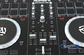 numark mixtrack ii 2 channel dj controller 16 touch sensitive product numark mixtrack pro ii
