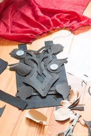 making thor s chest armor for thor costume out of craft foam