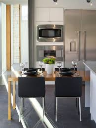table island combo. modern ceramic floor kitchen/dining room combo idea in cincinnati table island