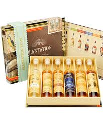 plantation rum selection cigar gift pack