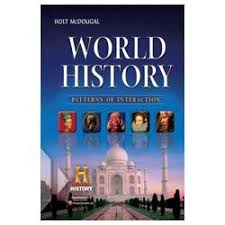 World History Textbook Patterns Of Interaction Delectable Holt McDougal World History Lamp Post Homeschool