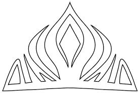 Crown Template Inspiration Elsa Crown Downloadable Template Birthday Pinterest Crown