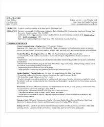 4th Grade Teacher Resume 2nd Grade Teacher Resume Teaching Resume 2nd Grade Teacher Resume