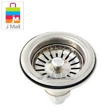 sink strainer stopper stainless steel waste for sink strainer filter drain basket for kitchen sink waste