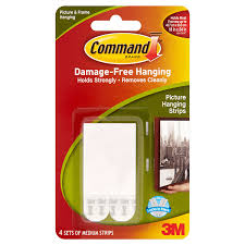 close image for command 3m medium picture hanging strips from sainsbury s